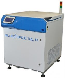 Blue Force 12L R centrifuge by MSE