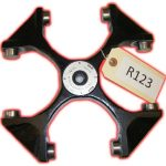 Heraeus Sepatech rotor R123-R