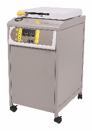 Compact top loading autoclave by Priorclave