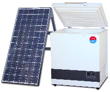 Environmentally friendly solar refrigerator