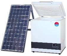 Environmentally friendly solar refrigerator