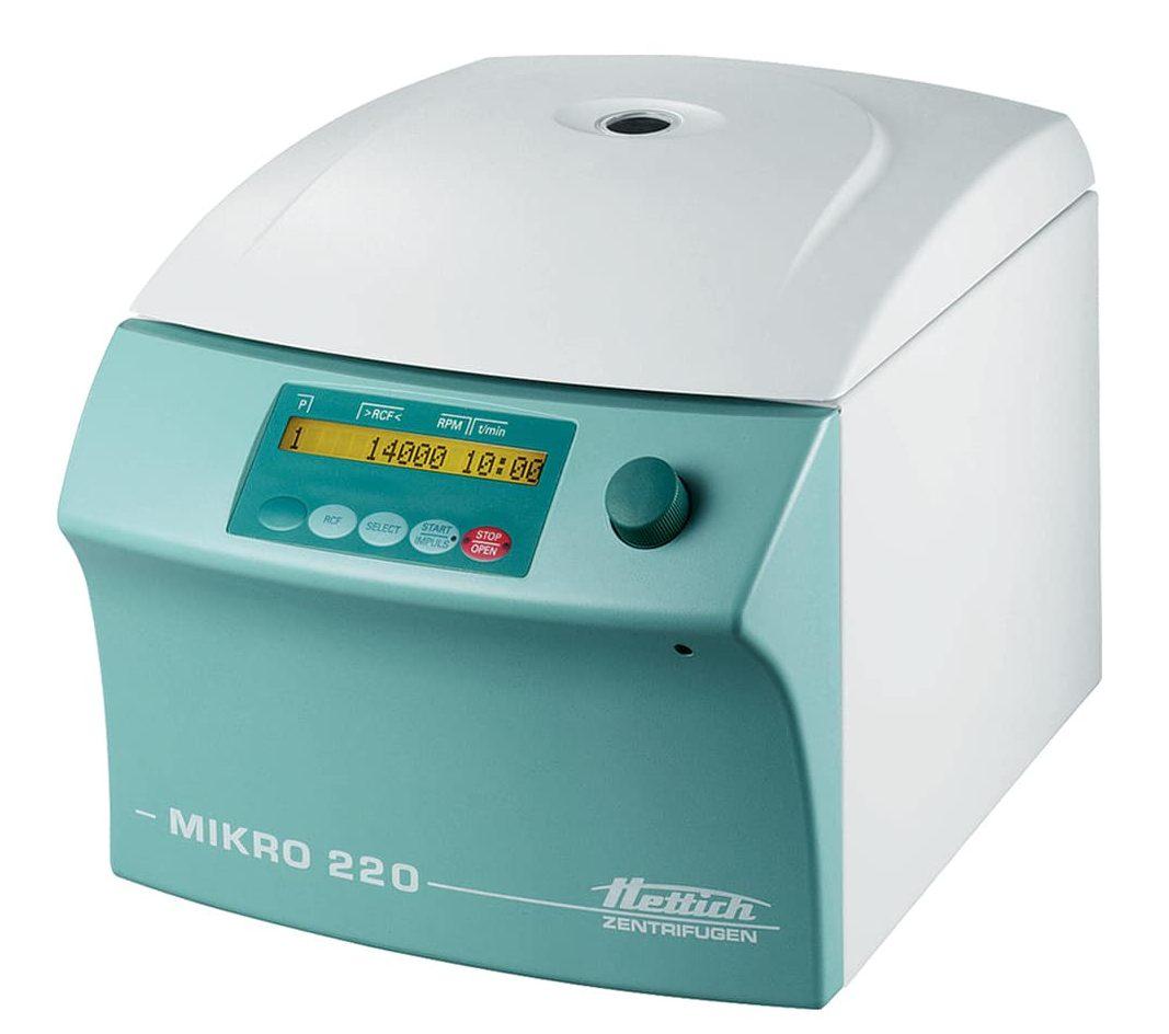 Hettich Mikro 220 centrifuge