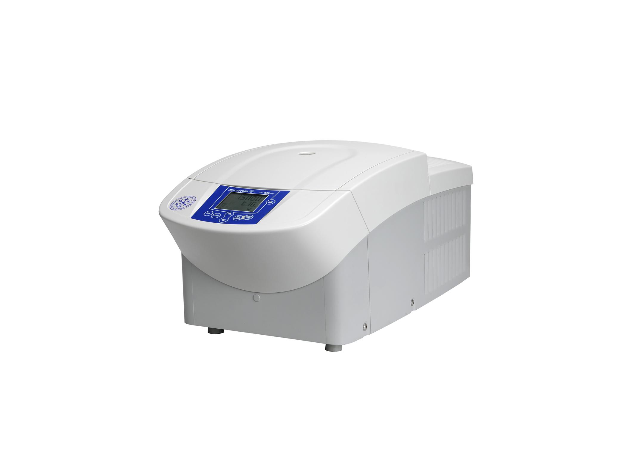 Sigma 1-16k centrifuge closed lid