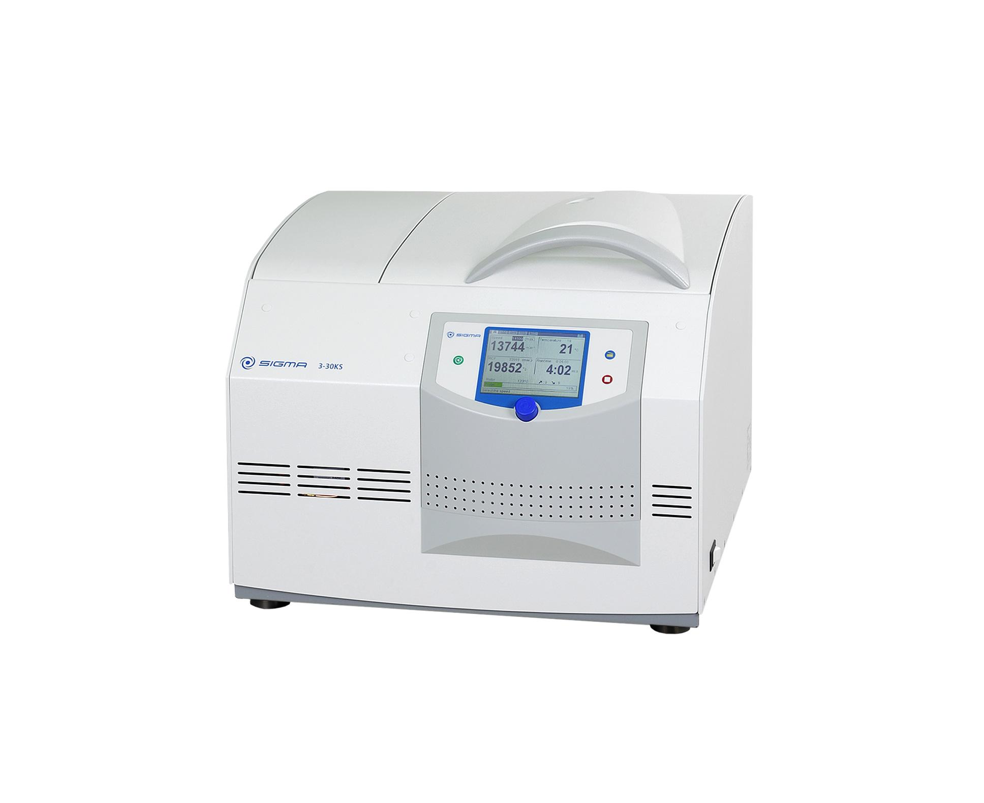 Sigma 3-30KS centrifuge closed lid