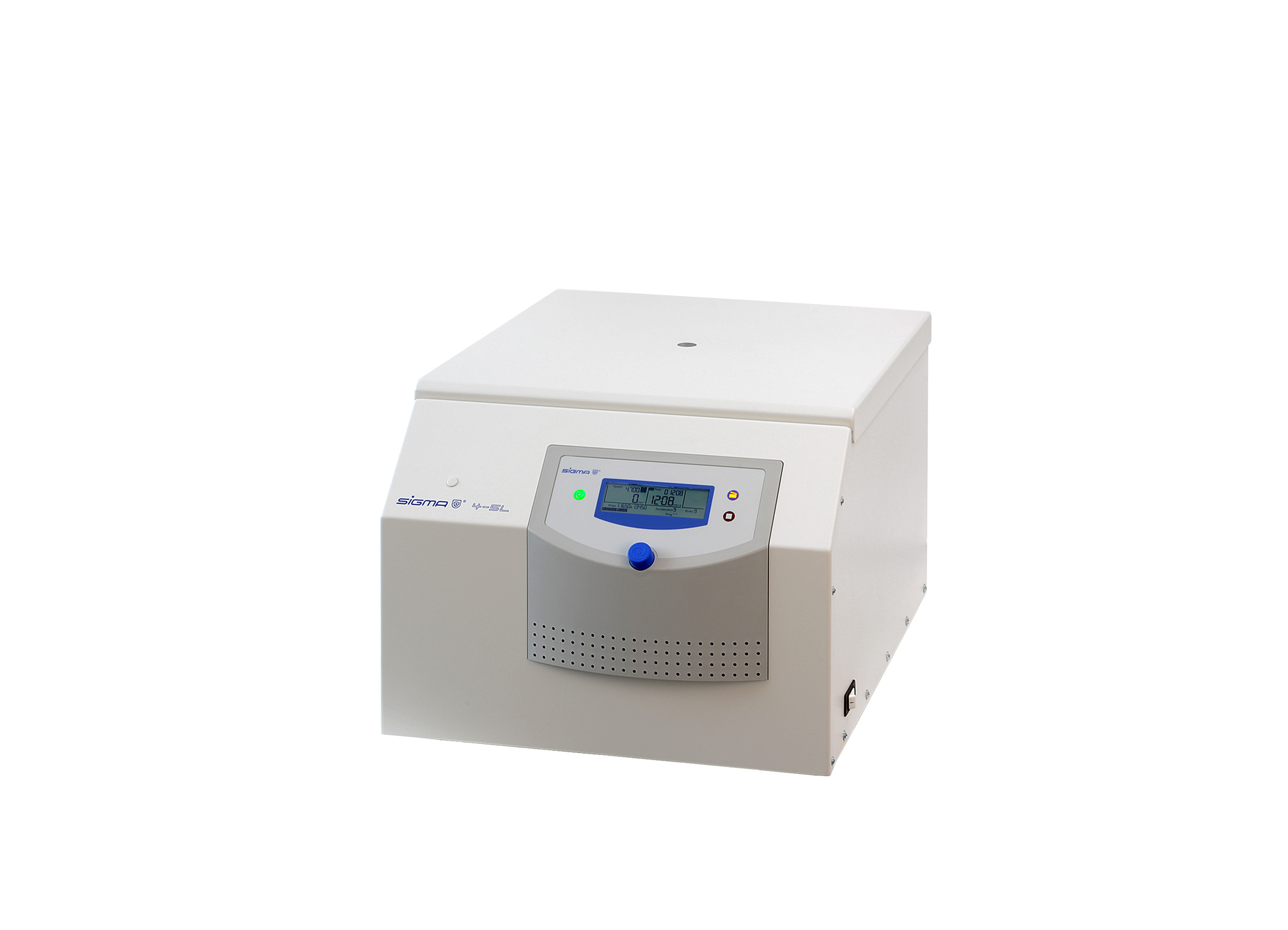 Sigma 4-5L centrifuge closed lid