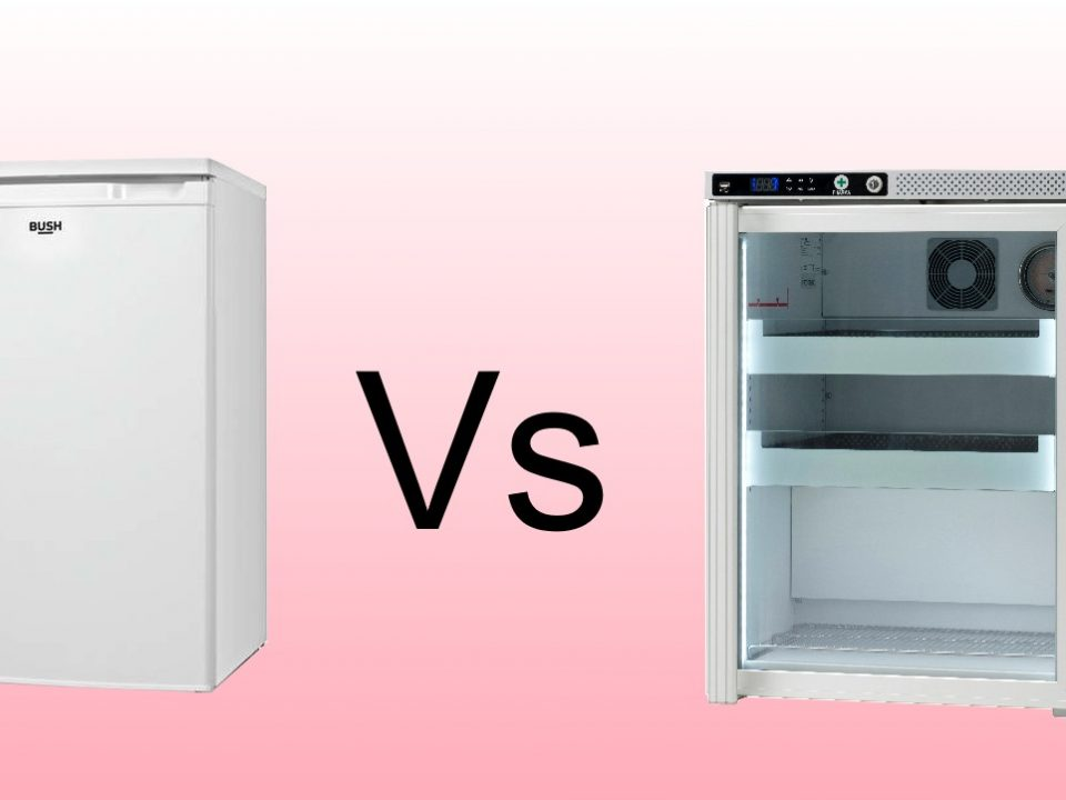 Difference between medical refrigerator and domestic one