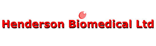 Henderson Biomedical logo from 2001