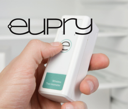 Eupry temperature monitor